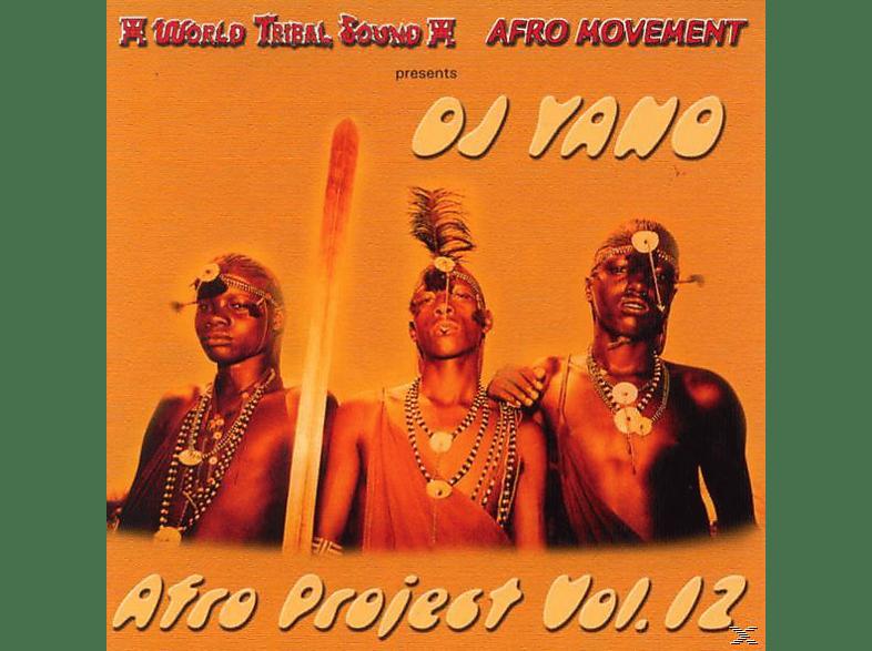Dj Yano - Afro Project Vol.12 [CD]