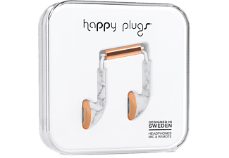 HAPPY PLUGS EARBUD WHITE MARBLE - Rosa