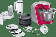 BOSCH MUM58420 CreationLine Küchenmaschine Red Diamond (Rührschüsselkapazität: 3,9 Liter, 1000 Watt)
