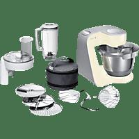 BOSCH MUM58920 CreationLine Küchenmaschine Vanille 1000 Watt