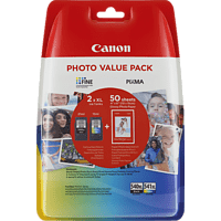 CANON PG-540XL/CL-540XL Tintenpatrone Photo Value Pack, mehrfarbig