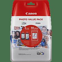 CANON PG-545XL/CL-546XL Tintenpatrone Photo Value Pack, mehrfarbig