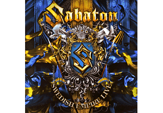 Sabaton - Swedish Empire Live - (CD)