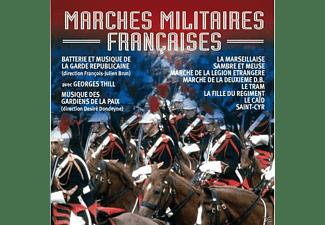 Batterie et Musique de la Garde Republicaine, Musique des Gardiens de la Paix, Georges Thill - Marches Militaires Francaises  - (CD)