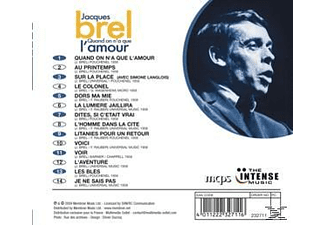 Jacques Brel - Quand on N'a Que l'Amour  - (CD)