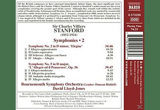 Bournemouth Symphony Orchestra - Sinfonien 2+5  - (CD)
