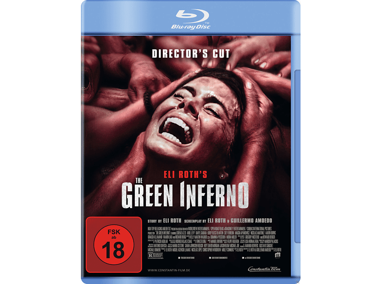 The Green Inferno [Blu-ray]