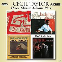 Cecil Taylor - 3 Classic Albums Plus [CD]