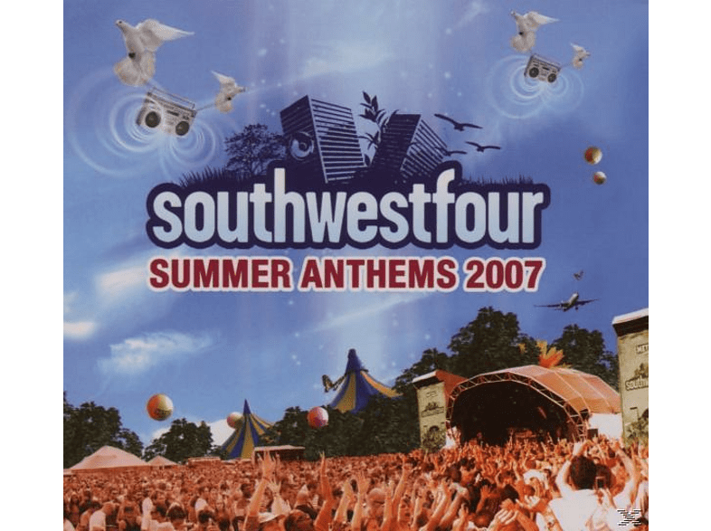 VARIOUS - SOUTHWESTFOUR - SUMMER ANTHEMS 2007 [CD]
