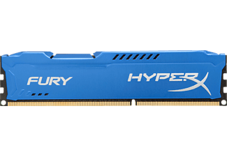 Memoria Ram - Kingston HyperX Fury DDR3 8Gb 1600MHz CL10 Azul