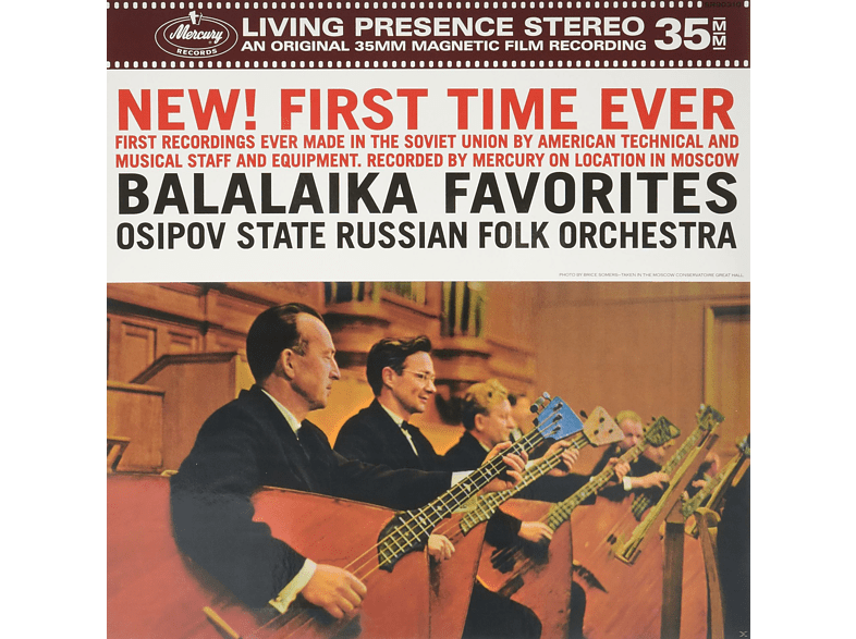 Various Composers, Osipov State Russian Folk Orchestra - BALALAIKA FAVORITES [Vinyl]