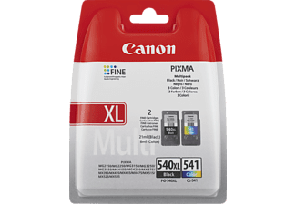 CANON Druckerpatrone PG-540XL / CL-541, schwarz/farbig (5222B012)