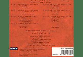 Dorothee Oberlinger, Ornamente 99 - Vivaldi: Concerti Per Flauto  - (CD)