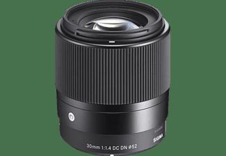 SIGMA 30mm 1.4 DC DN Contemporary f/1.4 DC (Objektiv für Micro-Four-Thirds, Schwarz)
