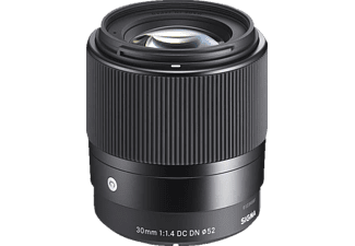 SIGMA Objektiv Contemporary AF 30mm 1.4 DC DN schwarz für Micro-Four-Thirds
