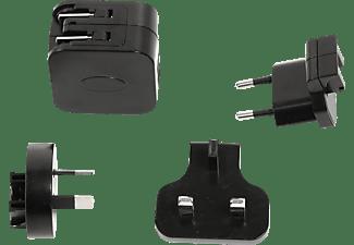 ACTIVEON ACA24UWC USB Wall Charger, USB Netzteil Ladegerät, Schwarz, passend für Action-Kameras ACTIVEON CX und CX Gold
