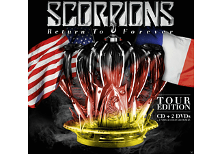 Scorpions - Return To Forever - Tour Edition (Cd + 2dvd) - (CD)