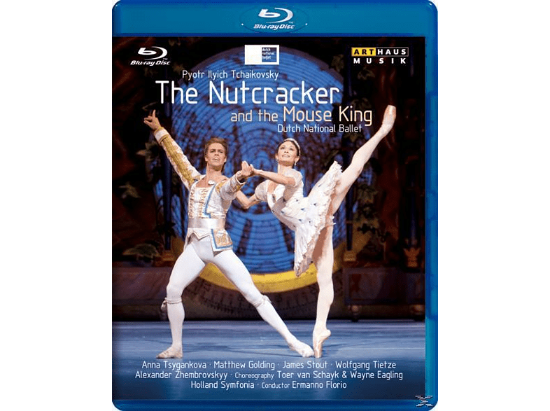 Tsygankova/Stout, Florio/Dutch National Ballet - The Nutcracker And The Mouse King [Blu-ray]