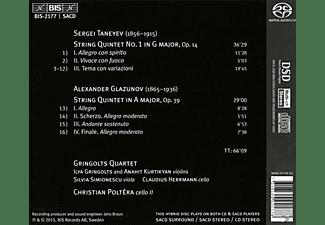 Gringolts Qr/Poltera - Streichquintette  - (SACD)