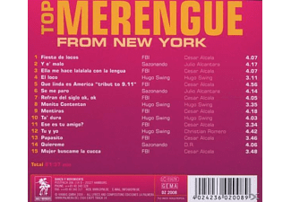 VARIOUS - Top Merengue from New York  - (CD)