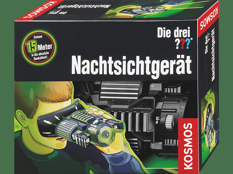 KOSMOS 631345 Die Drei ??? Nachtsichtgerät, Schwarz, Grau