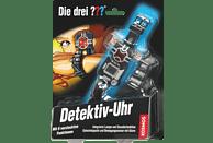KOSMOS 631963 Die Drei ??? Detektiv-Uhr, Schwarz, Silber