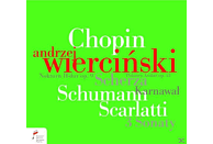 Andrzej Wiercinski - Chopin Schumann Scarlatti [CD]