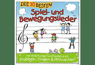Karsten Glück, Simone Sommerland, Die Kita Frösche - Die 30 besten Spiel- und Bewegungslieder [CD]