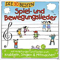 Karsten Glück, Simone Sommerland, Die Kita Frösche - Die 30 Besten Spiel-und Bewegungslieder - (CD)
