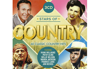 VARIOUS - Stars Of Country - 60 Classic Country Hits  - (CD)