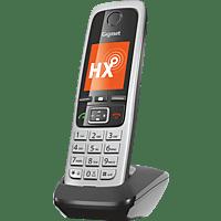 GIGASET C430HX Schnurloses Telefon, Schwarz/Silber