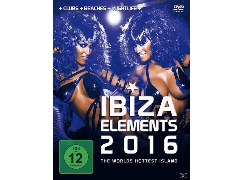 Ibiza Elements 2016 - Clubs Beaches Nightlife [DVD]
