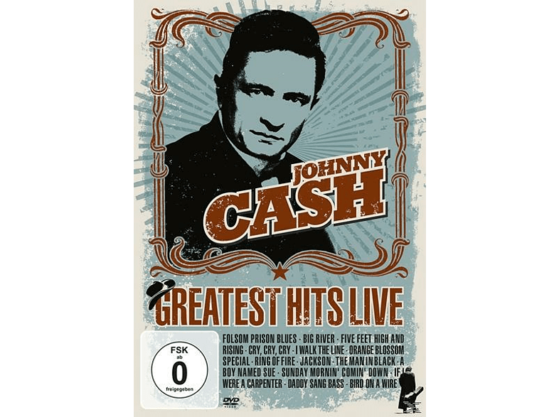 Johnny Cash - Greatest Hits Live [DVD]