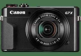 CANON PowerShot G7 X Mark II Digitalkamera Schwarz, 4.2fach opt. Zoom, Touchscreen-LCD (TFT), WLAN