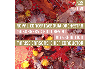 Royal Concertgebouw Orchestra - Mussorgsky: Pictures At An Exhibition - (SACD)