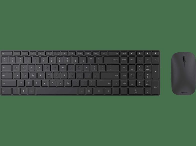 MICROSOFT Designer Bluetooth Desktop, Tastatur & Maus Set, Anthrazit
