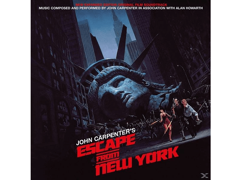 OST/Carpenter,John & Howarth,Alan - Escape From New York (Original Film [Vinyl]