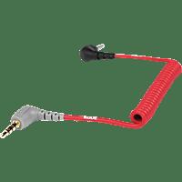 RODE SC7, Spiraladapterkabel, Rot, passend für VideoMicro, VideoMic GO