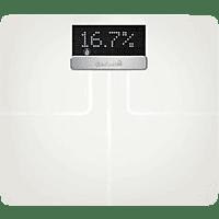 GARMIN INDEX SMART SCALE, Elektronische Körperanalysewaage, -, -, Weiß