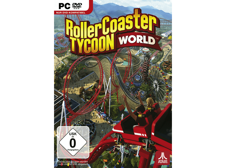 Rollercoaster Tycoon World (Software Pyramide) [PC]