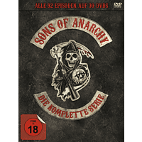 Sons of Anarchy - Die komplette Serie: Staffel 1-7 (30 Discs) DVD