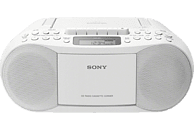 SONY CFD-S70 Boombox Radiorecorder, Weiß