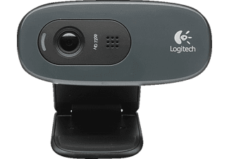 LOGITECH HD Webcam C270, schwarz (960-001063)