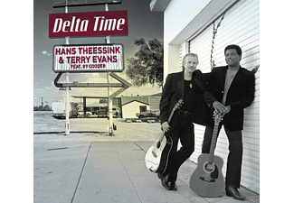Terry Evans & Ry Cooder, Theessink Hans - Delta Time  - (CD)