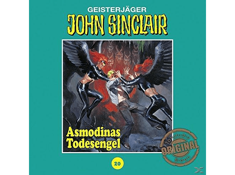 John Sinclair Tonstudio Braun-Folge 20 - Asmodinas Todesengel - (CD)
