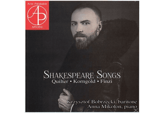 Krzysztof Bobrzecki, Anna Mikolon - Shakespeare Songs - (CD)