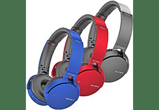 Auriculares inalámbricos - Sony, MDRXB650BT Extra Bass, Bluetooth, NFC, Negro