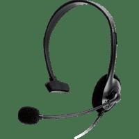 ISY IC-1001 HeadCom Gaming Headset Schwarz