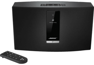 BOSE SoundTouch 20 III Streaming Lautsprecher App-steuerbar, Bluetooth, 802.11 b/g/n, Schwarz