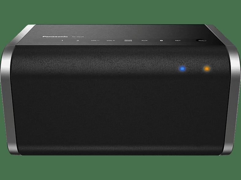 PANASONIC SC-ALL6 - Streaming Lautsprecher (App-steuerbar, Bluetooth, Schwarz)